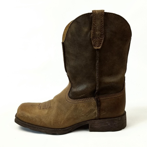a0a1ff185a6 Ariat Rambler Western Boots Kids 2.5 EUR 33